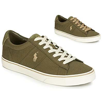 Ralph Lauren Polo Sayer Sneakers Uomini Verde 40