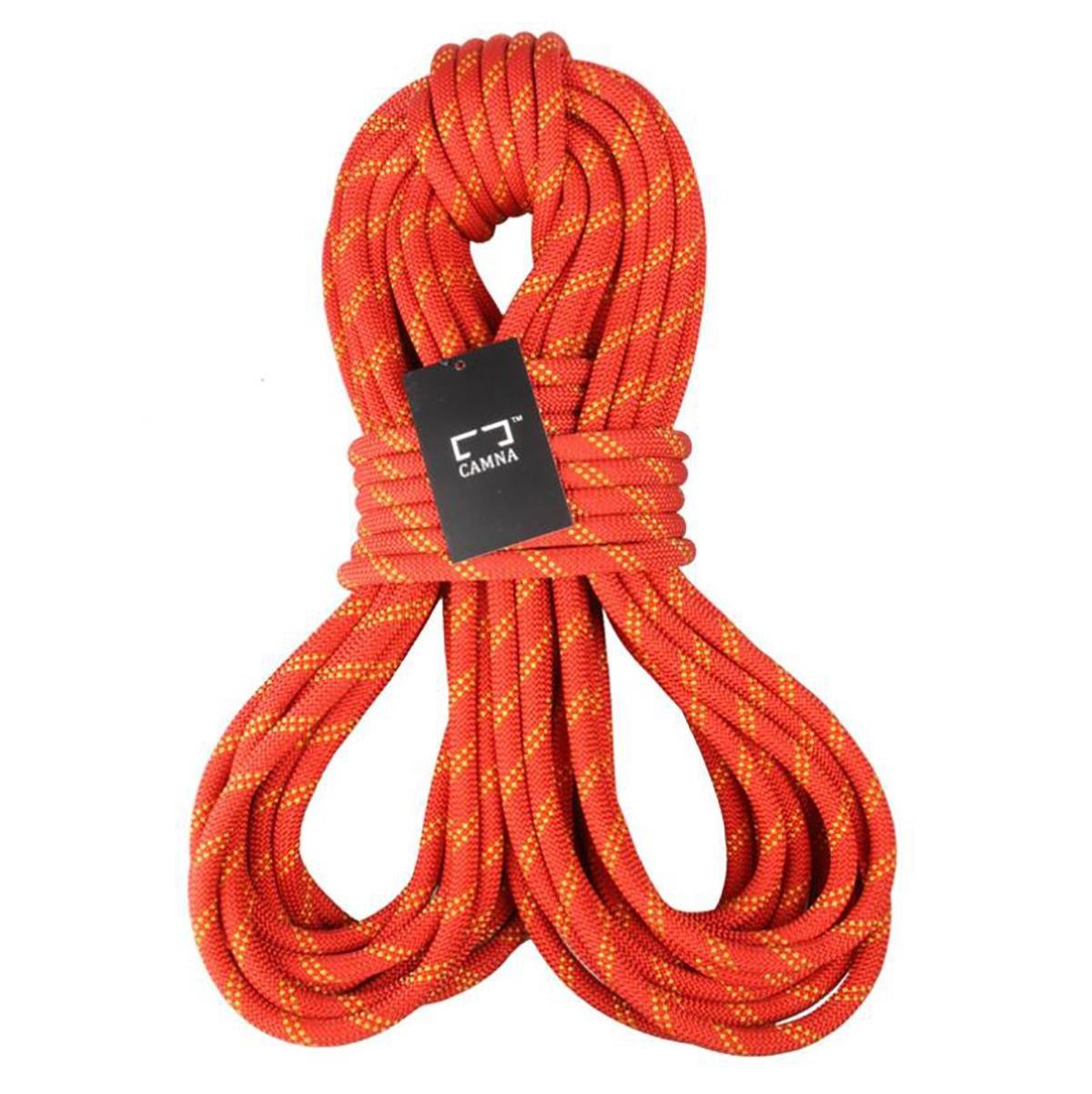 12 mmスタティックロープアウトドア登山速度Downロープ安全デュポン 40m レッド B06XG1M9M3