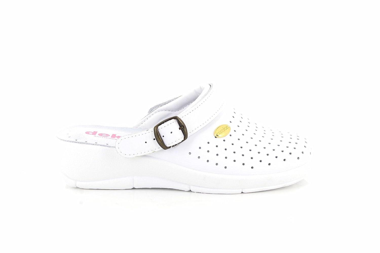 San Malo JANETTE Ladies Leather Mule Clogs Sandals White: Amazon.co.uk:  Shoes & Bags