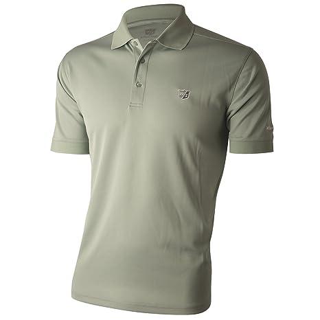 Wilson Staff Mens Authentic de Polo Camiseta Silt Grey tamaño XL ...