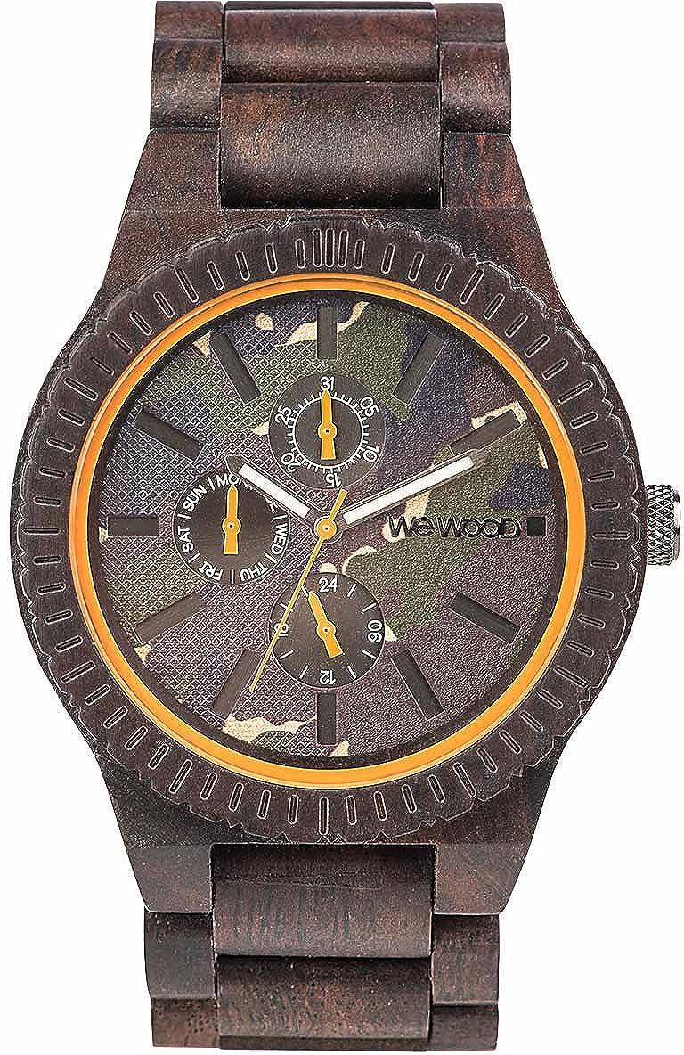 Ww30005 Wewood Armbanduhr Holz Choco Camo Kos FJ3u1Tl5Kc
