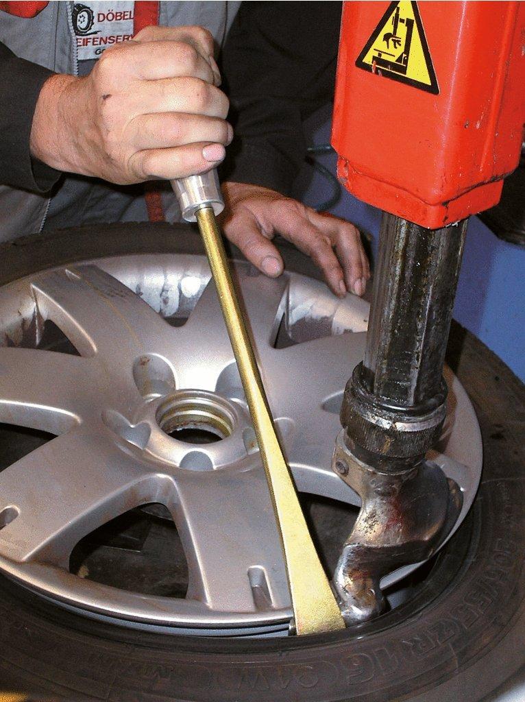 425 mm KS Tools 911.8170 Reifen-Montierhebel mit Alugriff