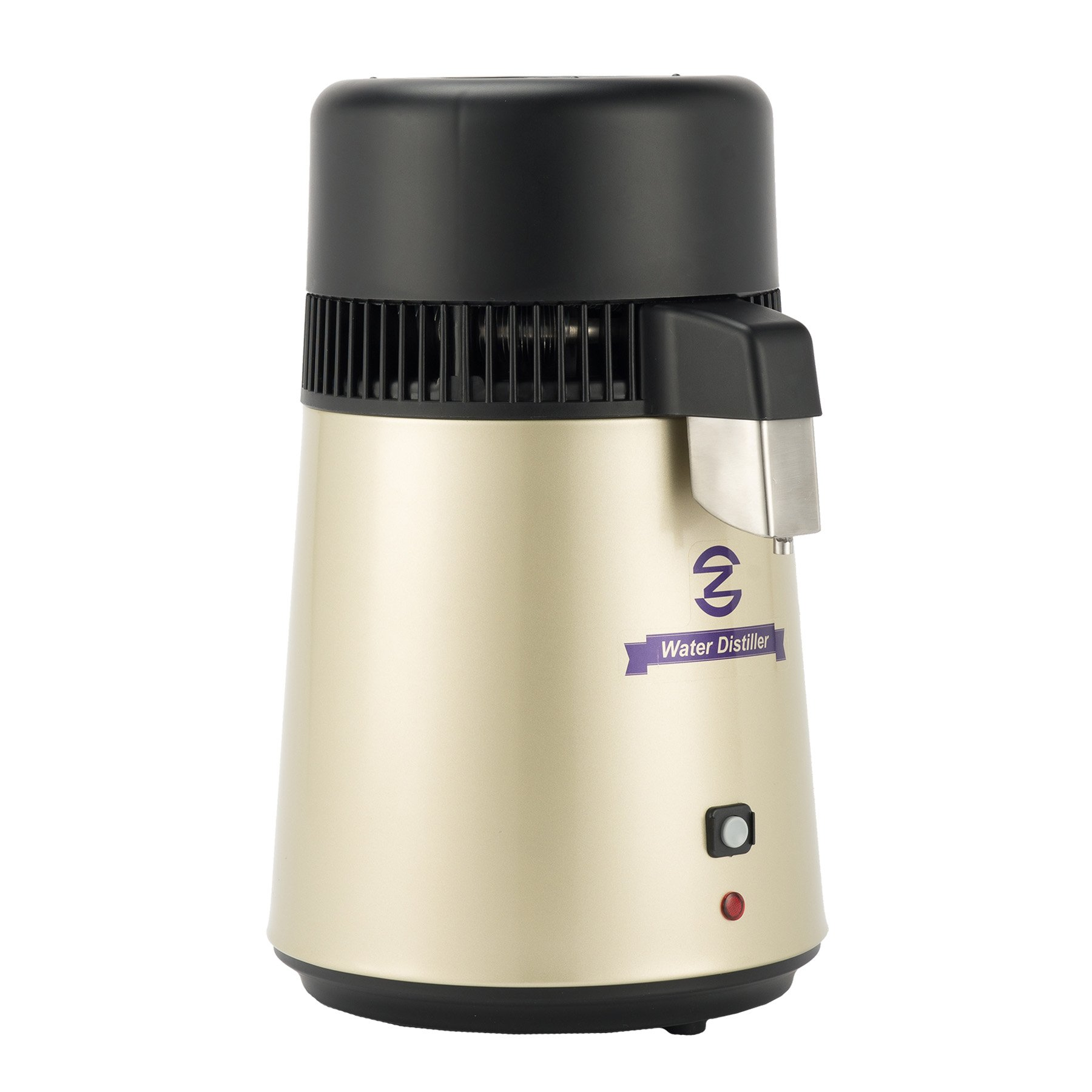 CO-Z Stainless Steel Countertop Home Water Distiller Machine with 4 Liter Connection Bottle by CO-Z (Image #2)