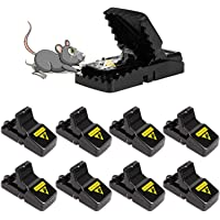 Mouse Trap, Mice Traps That Work Humane Small Mouse snap Trap Power Rodent Killer 100% Mouse Catcher - 8 Pack