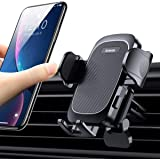Vent Phone Holder with Strong Auto Clamp Arm and Support Foot Pad, Anwas Car Phone Mount Easy 1 Hand Use, Cell Phone car Crad
