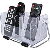 Discoball® Fernbedienungshalter Fernbedienung TV Klimaanlage Aufbewahrungshalter Tisch Organizer Halter Kasten Behälter Aufbewahrung Aufbewahrungsbox Klar Acryl