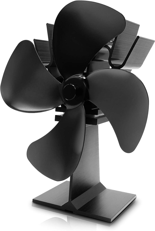 metafood Ventilador de warmica – Ventilador de la chimenea ...