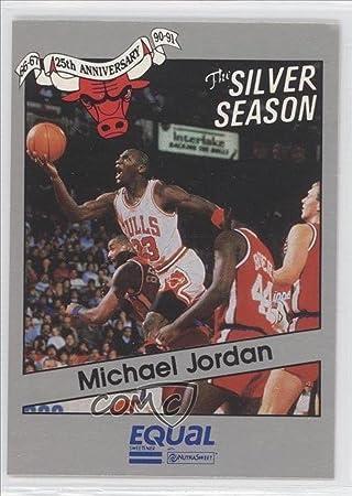 cc5249d822f83 Michael Jordan (Basketball Card) 1990-91 Star Equal Chicago Bulls ...