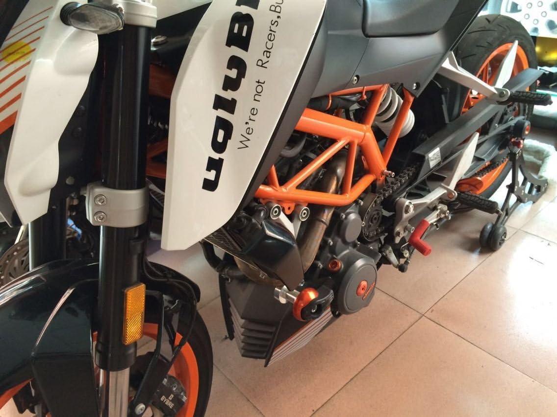 Artudatch Lot de 2 protections de radiateur pour moto K-T-M Duke 125 200 390
