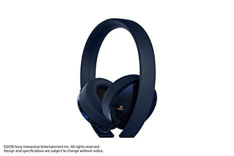 Sony Playstation 4 Wireless Surround Headset Casque Headphone PS4 500 million Limited Edition Japanese Import