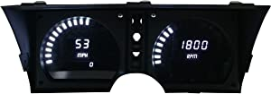 Intellitronix C3 Corvette 1978-1982 LED Digital Dash Gauge Replacement Panel - Direct Fit Solution for Precision Accuracy - Long Lasting, Super Bright White LEDs - USA Made Upgrade
