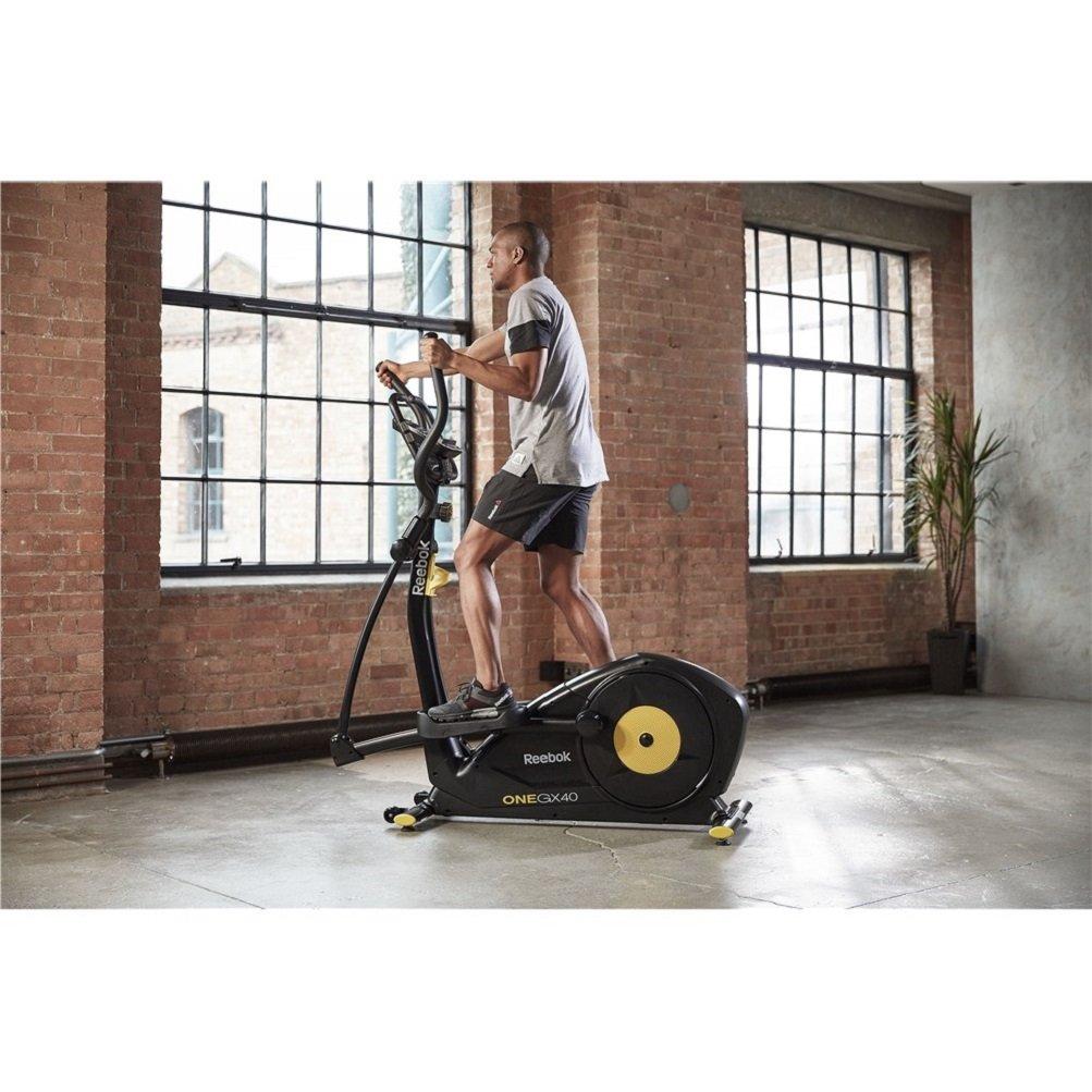 Reebok Bicicleta Elíptica Gx40 One Series Cross Trainer Negro: Amazon.es: Deportes y aire libre
