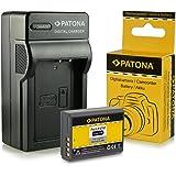 Caricabatteria + Batteria LP-E10 per Canon EOS 1100D / EOS Rebel T3