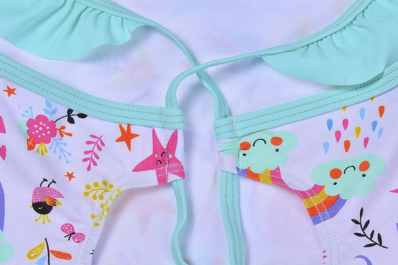 Baby Girls Unicorn Swimsuit One Piece Kids Bathing Suit Little Girls Swimming Wear