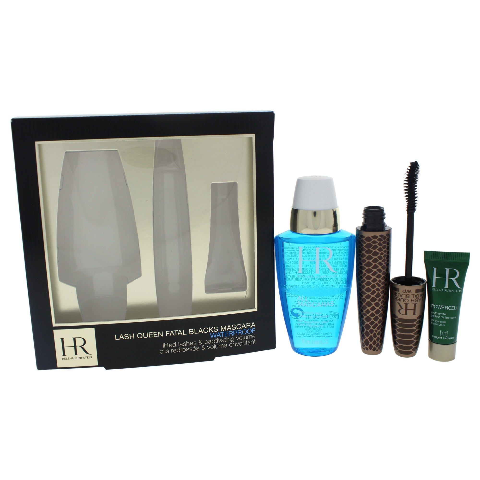 Helena Rubinstein Lash Queen Fatal Black Mascara Waterproof Kit for Women, 3 Count by Helena Rubinstein (Image #1)