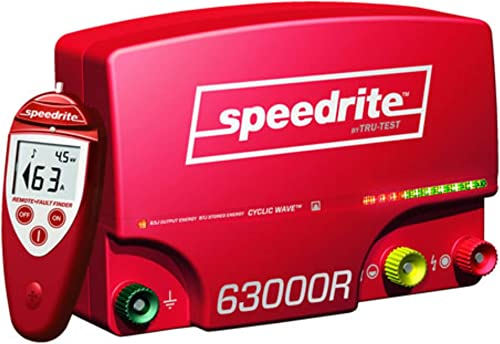 Speedrite 63000RS Remote Fence Energizer, 63 Joules