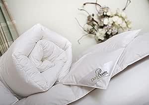 Blanco Linens Limited Edred/ón de Plumas y plum/ón de Ganso 4,5 TOG Individual