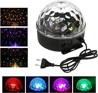 Tera LED proyector con 6 colores/bola Cristale mágico de luz con ...