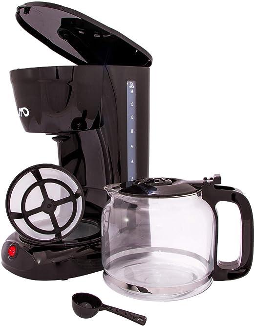 NUEVO MD Cafetera Eléctrica 15 – 16 tazas 1,8 L Placa calentadora 950 W Jarra de
