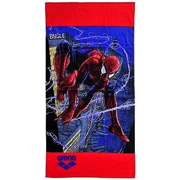 Arena DM Jr Toalla de Piscina Marvel Spider, Unisex Niños, Universal