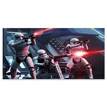 Blanco Star Wars Storm Trooper batalla Fantasy acrílico decorativo de cristal, acrílico, Blanco, Large (120cm x 60cm): Amazon.es: Hogar