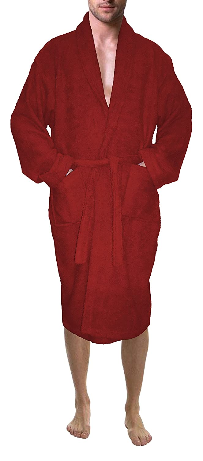 05cb357078 SKYLINEWEARS Men s 100% Terry Cotton Bathrobe Toweling Robe at Amazon Men s  Clothing store
