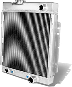 CoolingCare 2 Row Aluminum Radiator for 1963-66 Ford Mustang/Mercury Comet 4.3L 4.7L V8