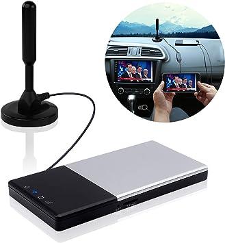 Auto TV eempfänger DVB-T/T2 Super PDR Transmisor y receptor Cai Automobile TV Box través Android 4.2 Digital TV sintonizador receptor con antena Adecuado para Auto/Casa/exterior.: Amazon.es: Electrónica