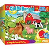 MasterPieces Sing-A-Long Old McDonald - 24 Piece Kids Puzzle with 30 Second Sound Chip