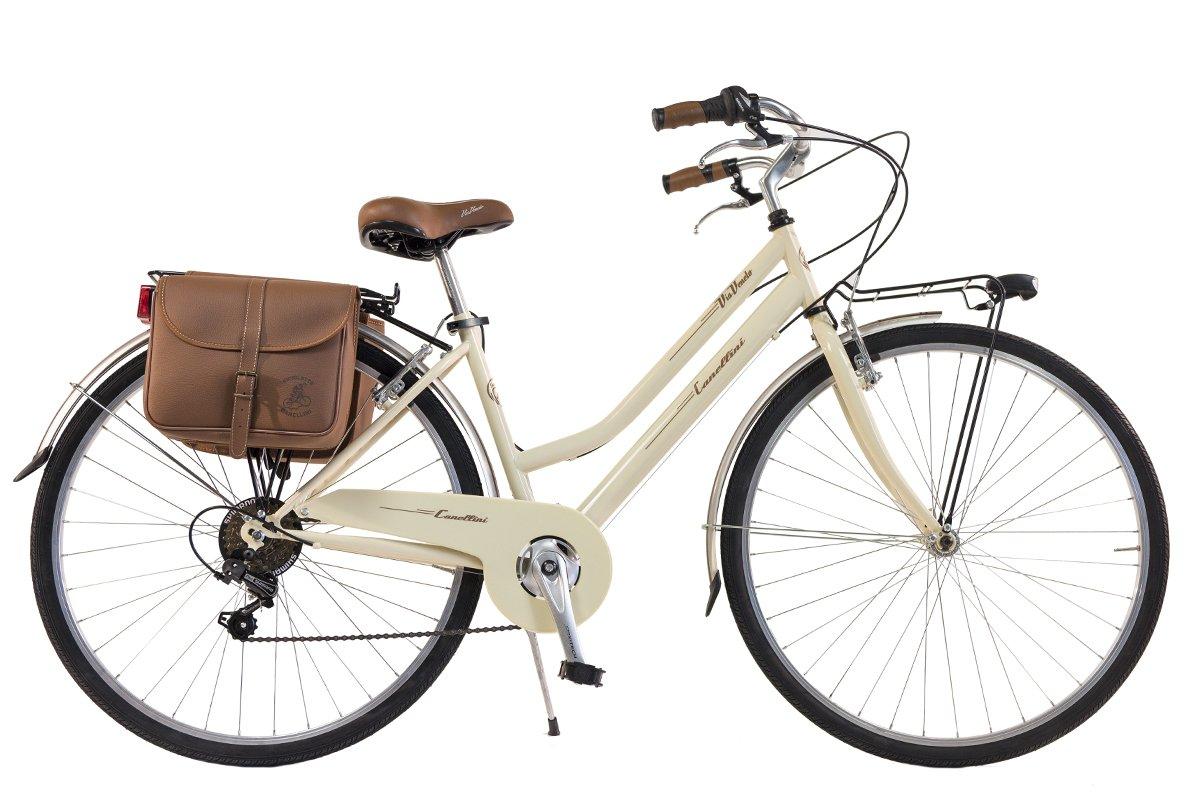 Via Veneto By Canellini Bicicleta Bici Citybike CTB Mujer Vintage Retro Via Veneto Acero Nata product