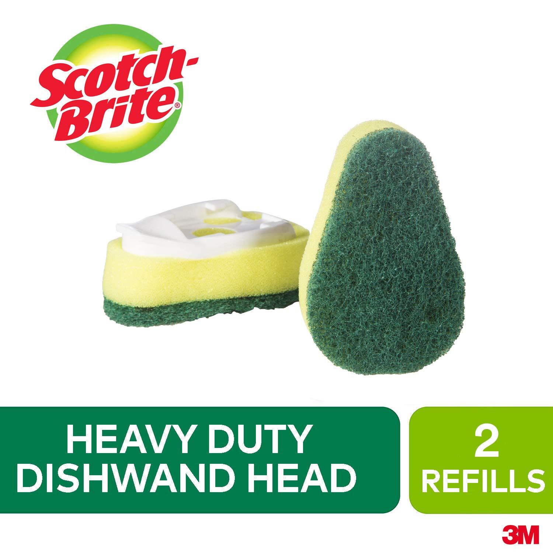 Scotch Brite Heavy Duty Dishwand Small Refill, 2-Pack