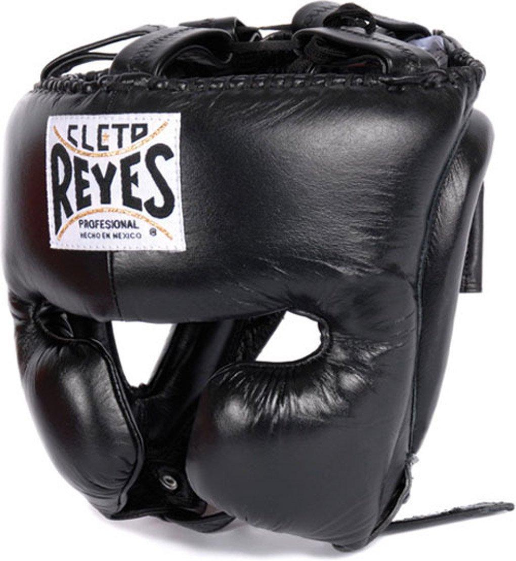 Cleto Reyes ヘッドギア チークプロテクション付き M ブラック