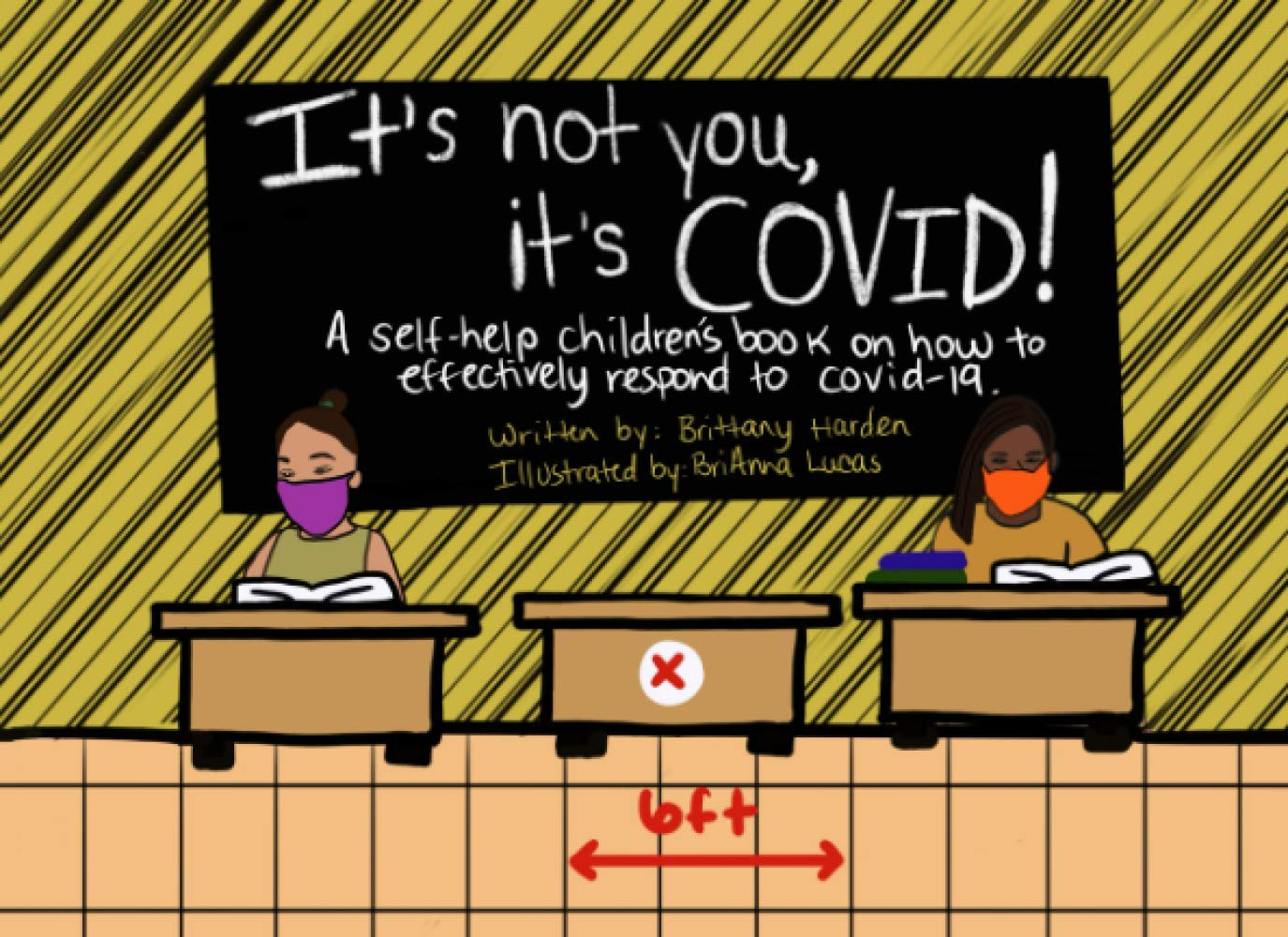 It's not you, it's COVID!: A self-help children's book on how to effectively respond to Covid-19.