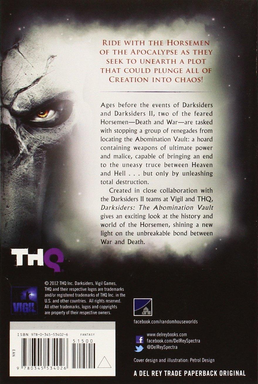 Darksiders: The Abomination Vault: Ari Marmell: 9780345534026: Amazon:  Books