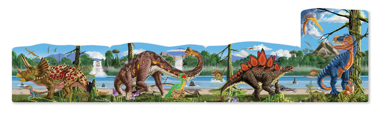 Amazon.com: Melissa U0026 Doug Dinosaurs 4 In 1 Jumbo Linking Jigsaw Floor  Puzzle (96 Pcs, 5 Feet Long): Toys U0026 Games