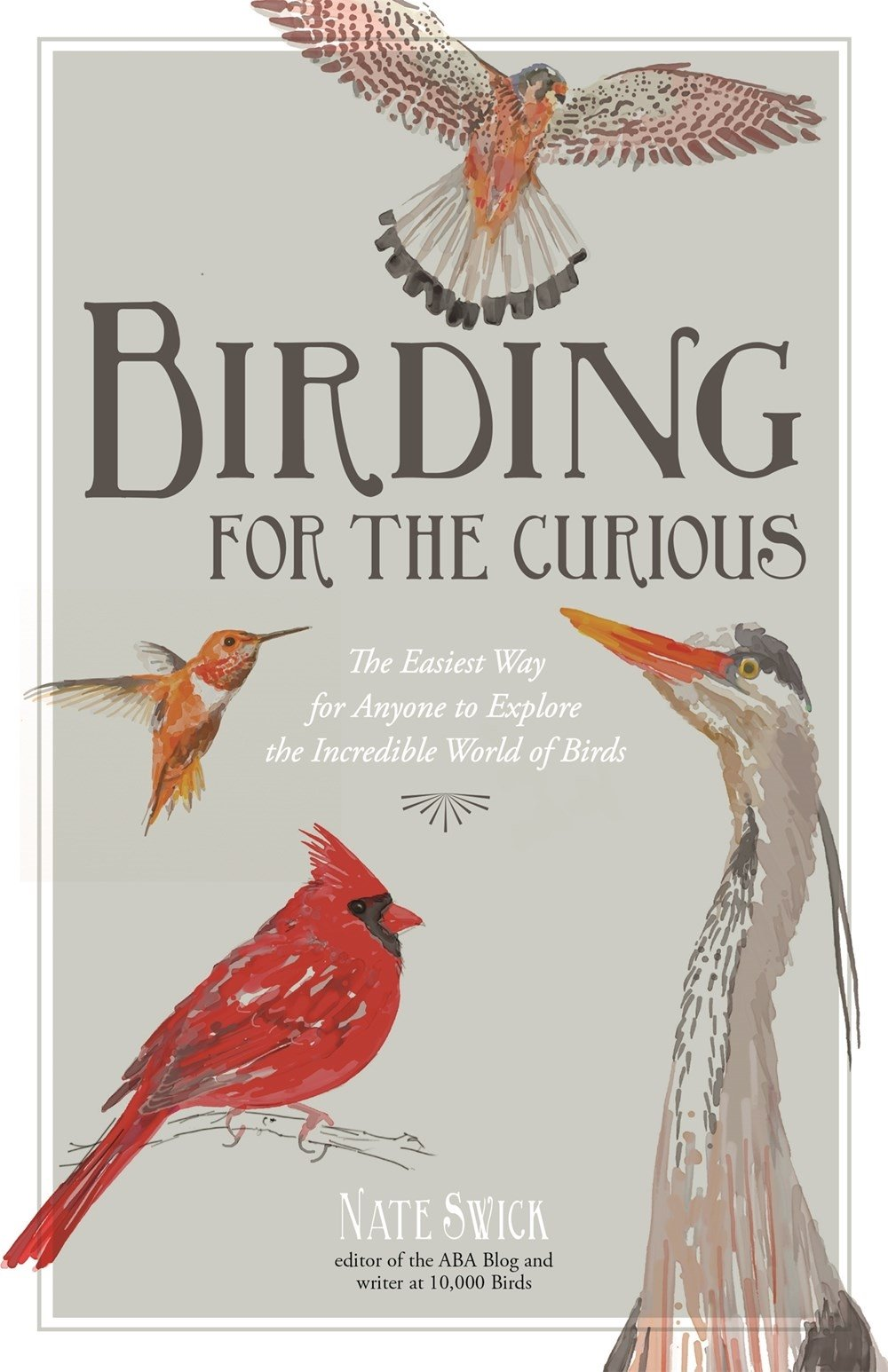 Birding for the Curious: The Easiest Way for Anyone to Explore the Incredible World of Birds