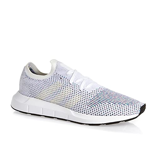 new styles 39a49 81e00 adidas Swift Run PK CG4126, Zapatillas de Deporte para Hombre, Blanco  (Ftwbla Casbla Negbas), 36 2 3 EU  Amazon.es  Zapatos y complementos