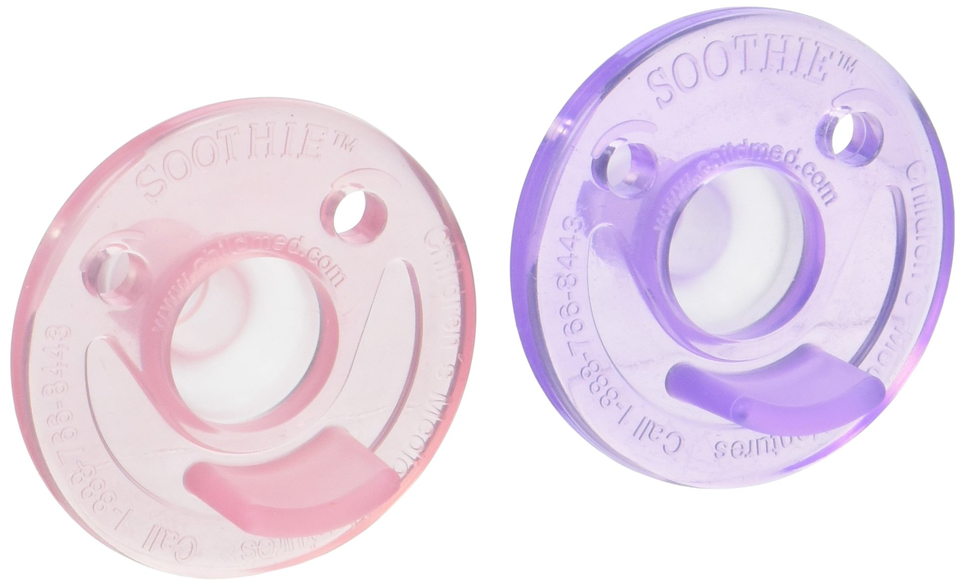 Avent Soothie - Pink/Purple - Girls - 0-3 Months - 2-2 pk