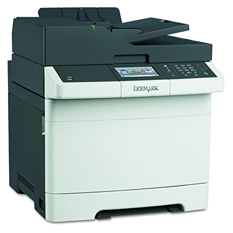 Lexmark CX410de Color All In One Laser Printer With Scan Copy Network Ready