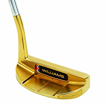 Williams golf Putter FW32 Oro 3, Right: Amazon.es: Deportes ...