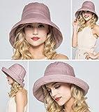 Kafeimali Women's Cotton Bucket Hat Sun Summer