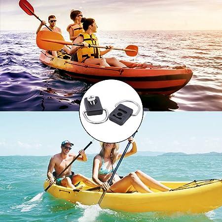 10x canoë kayak D anneau pourvoirie pêche gréement bungee Kit accessoire qw