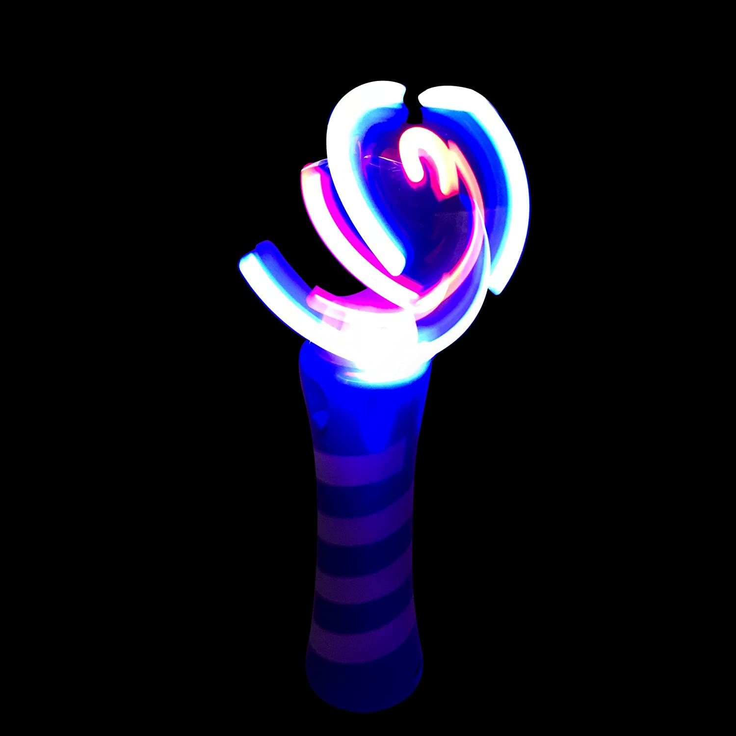 LED Wand glow stick Non-Toxic Magic Wands red Birthday Magic Wand Toy LilPals LED DTY Wand Windmill Toy Halloween Costumes Ideal for Parties LED Toys Magic Wand Toy Wand