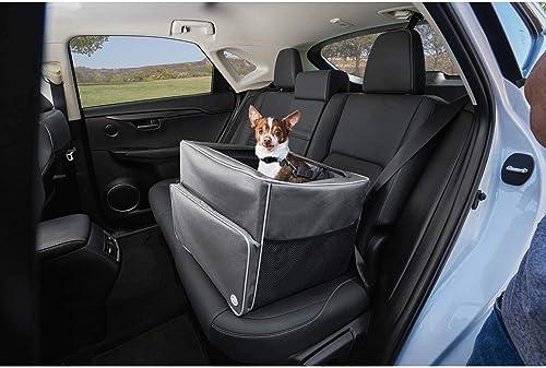 GOOD2GO Auto Booster Seat in Gray, 17 W x 13 H