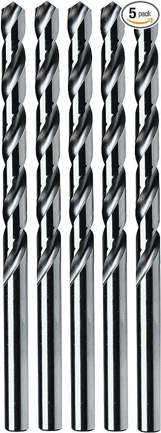 135-Degree Split Point 2 Wire Gauge Drill Bit IVY Classic 01402 No M2 High-Speed Steel 12-Pack
