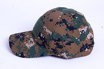 Camuflaje Velcro gorro Simplicity Outdoor Sun Hat gorro de ...