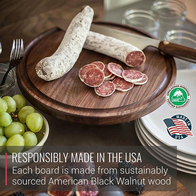 Amazon.com: Virginia Boys Kitchens tablas de corte de madera ...