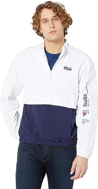 Fila Men's Gus 12 Zip Jacket at Amazon Men's Clothing store