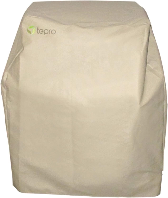 TEPSMIGO Grillabdeckung,Grill Abdeckhaube mit Einer Grillbürste für Tepro Toro