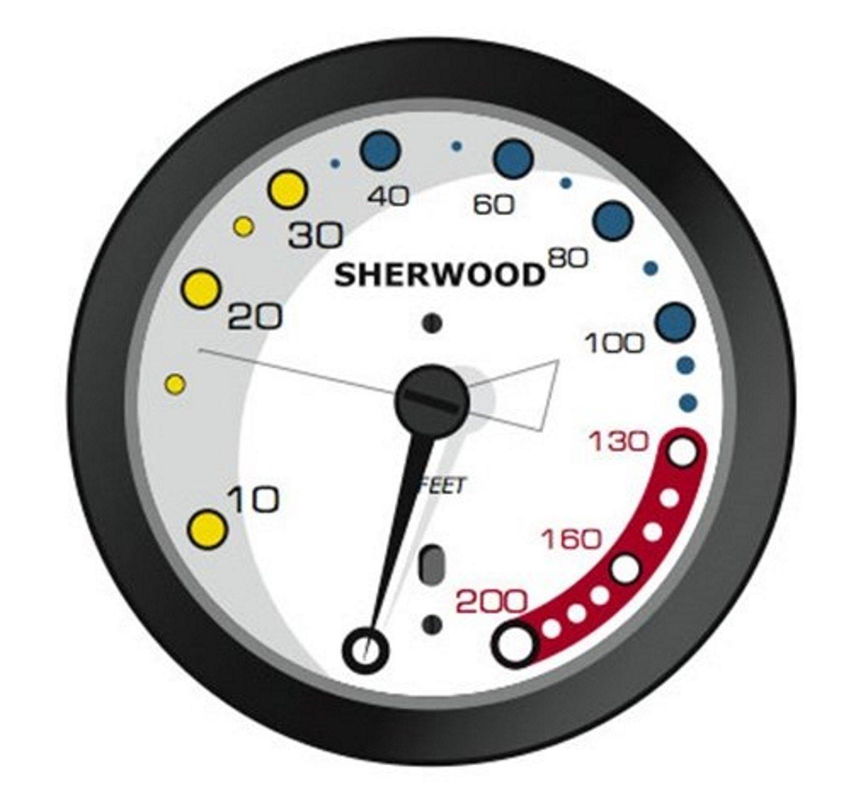 Sherwood 1.75 Inch Diameter Depth Gauge